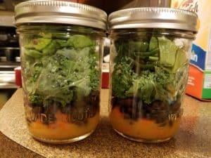 Salad in a Jar Examples